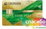 Начисляются ли бонусы Спасибо от Сбербанка на кредитную карту?