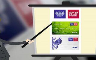 Моментальные кредитные карты в Почта Банке
