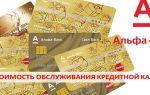 Сколько стоит обслуживание кредитной карты Альфа Банк в год