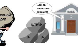 Погашение только основного долга по кредиту