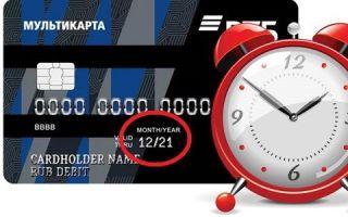 Истек срок действия кредитной карты ВТБ