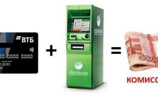 Снять деньги с кредитной карты ВТБ в Сбербанке?