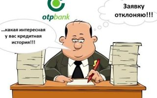 Проверить кредитную историю в ОТП Банке