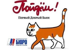 Кредитное бюро банка «Пойдем!»