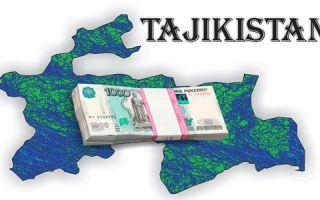 Банки, дающие кредит гражданам Таджикистана?