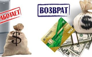 Как вернуть деньги на кредитную карту Сбербанка?