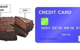 Что такое основной долг по кредитке?