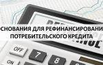 Основания для рефинансирования потребительского кредита