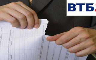 Отказ от страховки после получения кредита ВТБ 24