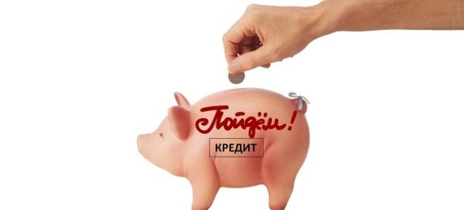 Оплата кредита в банке «Пойдем!»