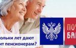 До скольки лет дают кредит пенсионерам в Почта Банке
