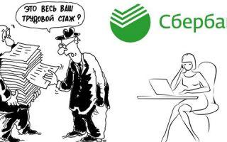 Какой нужен трудовой стаж, чтобы взять кредит в Сбербанке?