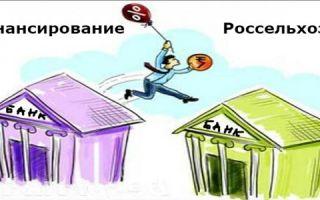 Рефинансирование кредитов в Россельхозбанке для физических лиц