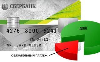 Что входит в обязательный платеж по кредитной карте Сбербанка?
