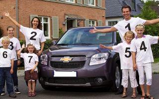 Кредит многодетной семье на покупку автомобиля