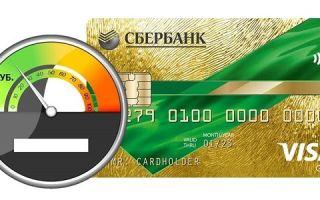 Минимальная сумма по кредитной карте Сбербанка