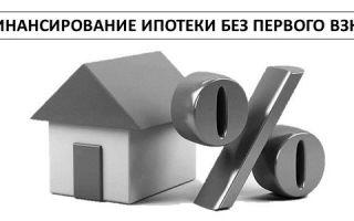 Рефинансирование ипотеки без первого взноса