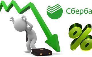 Снижение ставок по ранее выданным кредитам в Сбербанке