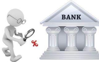 Банки с самыми низкими процентами по кредиту