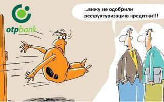 Реструктуризация кредитной карты ОТП Банка