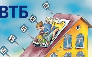 Программа рефинансирования ипотеки в ВТБ