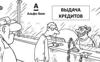 Кредиты частным лицам в Альфа-Банке