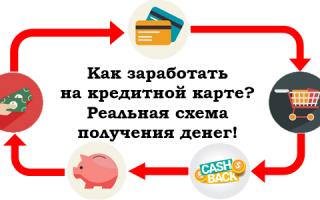 Легальные схемы заработка на кредитках