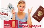 Требования к заемщику в Хоум Кредит Банке