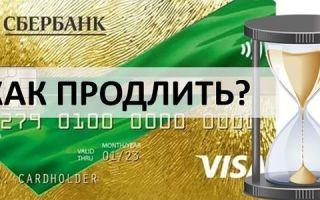 Как продлить кредитку Сбербанка?