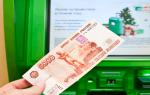 Как снять деньги с кредитной карты Сбербанка без карты