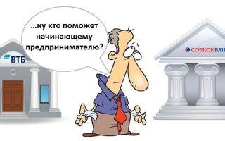 Какие банки дают кредит на открытие бизнеса с нуля?