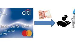 Комиссия за снятие наличных с кредитной карты Ситибанка