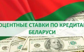 Процентные ставки по кредитам в Беларуси