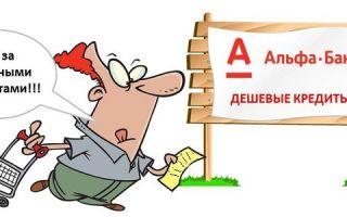 Кредитные продукты Альфа-Банка