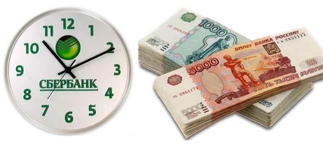 время одобрения кредита
