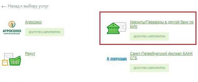 погашение кредита ВТБ 24 через Сбербанк_2