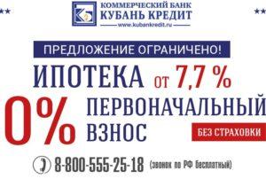 ипотека Кубань Кредит
