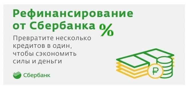 проценты по рефинансированию Сбербанк