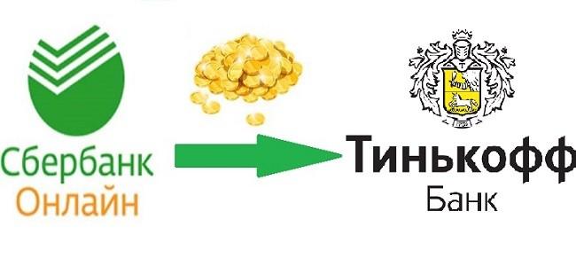 Как оплатить кредит в банке Тинькофф через Сбербанк Онлайн