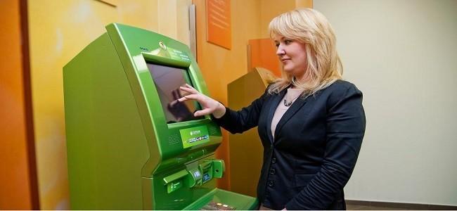 Оплата кредита Сбербанка через банкомат