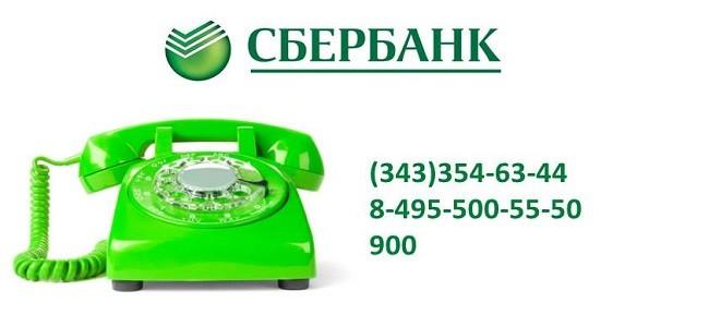 Телефон отдела по просроченной задолженности Сбербанка