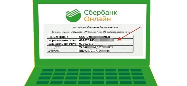 Как узнать расчетный счет кредитной карты в Сбербанк Онлайн