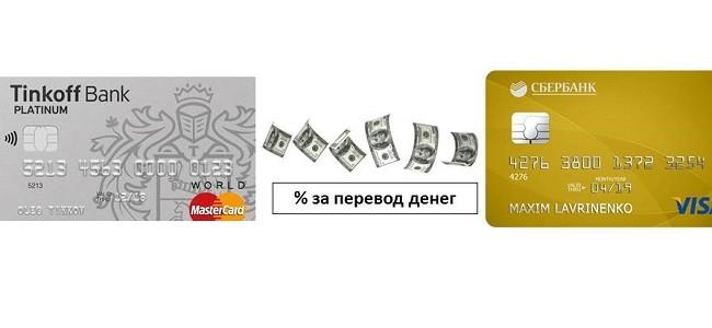 комиссия за перевод с кредитной карты тинькофф микрокредиты саратов
