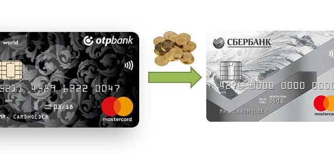 сбербанк разрешил перевод с кредитной карты