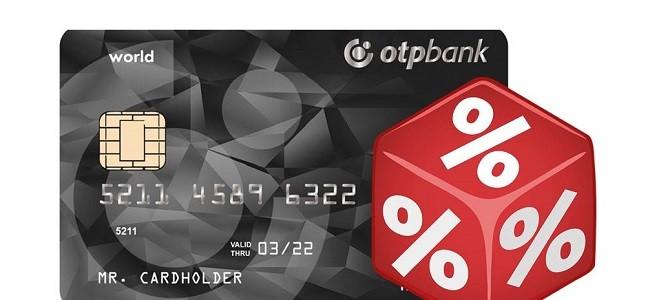 Процентная ставка по кредитной карте ОТП Банка