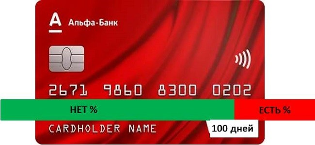 альфа кредитная карта 100 человек