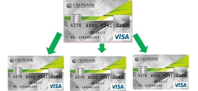 Как получить дополнительную кредитную карту Сбербанка