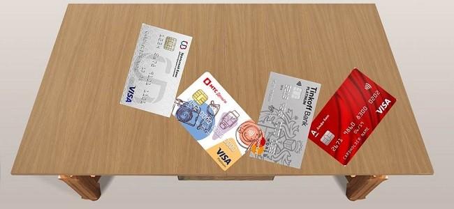 Тарифы на лучшие кредитки разных банков