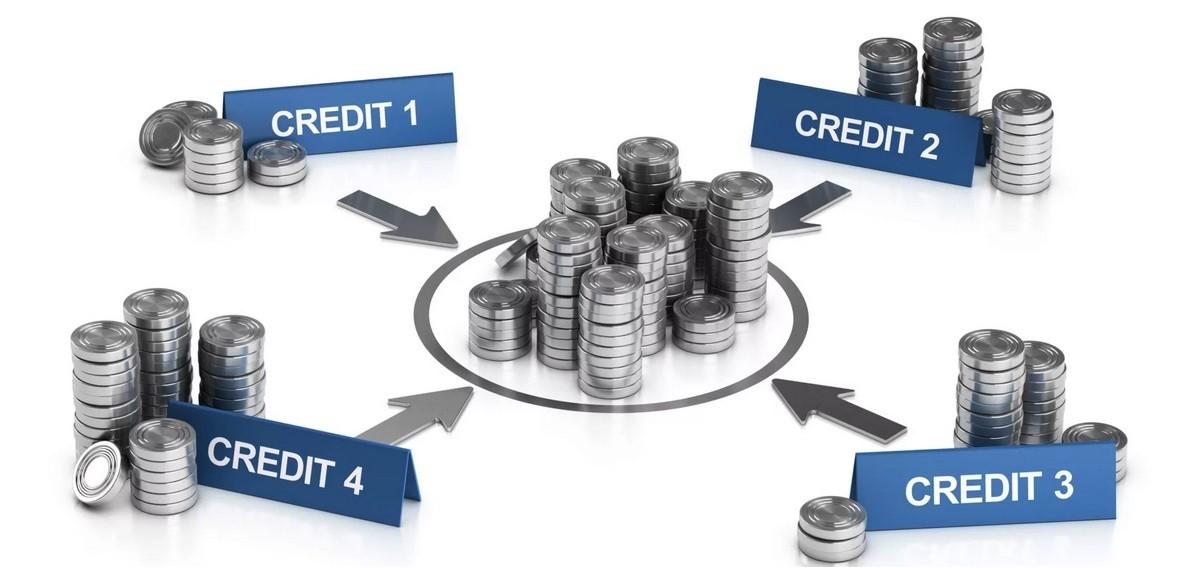 Объединение нескольких кредитов в один