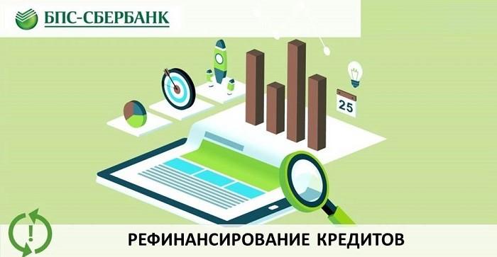 рефинансирование от БПС Сбербанк